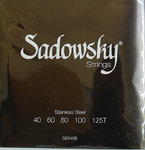 Sadowsky Bass Saiten SBS40B Black Label 40/125T 5-String