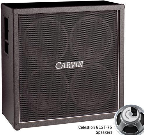 Carvin GC412B Cabinet Straight 4x12 - station music