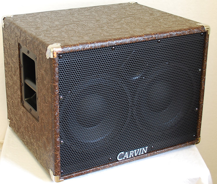 Carvin Bass Cabinet BR210-8 CWVC Western 2x10 8 Ohm - station music
