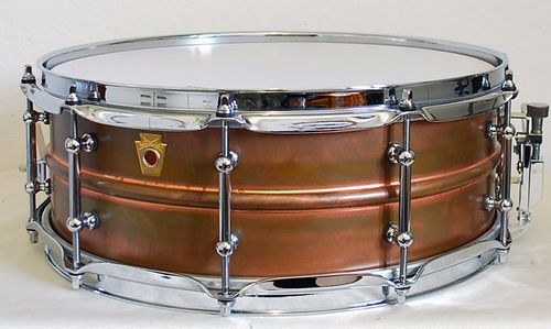 Ludwig Snare Copper Phonic 14x5 Raw Copper