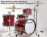 Ludwig Breakbeats by Questlove Red Sparkle Kit