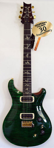 PRS Paul's Guitar station-music 30th AV Emerald