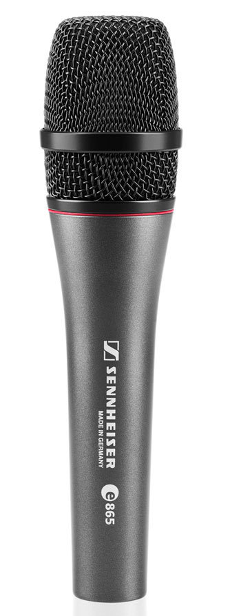 Sennheiser e865 Kondensator-Gesangsmikrofon mit Supernierencharakteristik