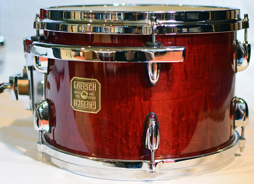 Gretsch Usa Custom Drumset Curly Rosewood 2006 Station Music