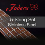 Fodera Bass Saiten 5-String Set 40120 XL Stainless Steel