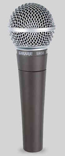 Shure SM58 LC Dynamisches Vokal Mikrofon
