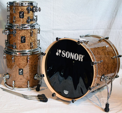 Sonor ProLite Studio 1 Chocolate Burl Shell-Kit