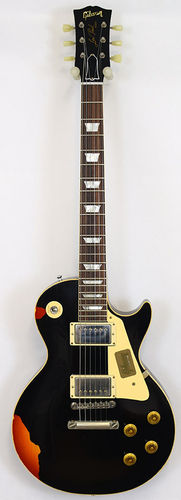 Gibson Les Paul Standard Black over Sunburst LTD