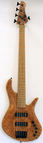 Torillo Shevette 5-String Bass Figured Cedar