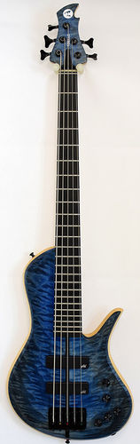 Torillo Fargo 5-String Bass Figured Blueburst
