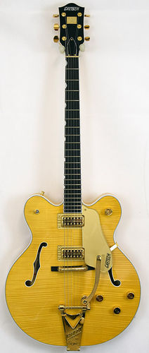 Gretsch G6122TFM-AM Country Gentleman Flame Amber