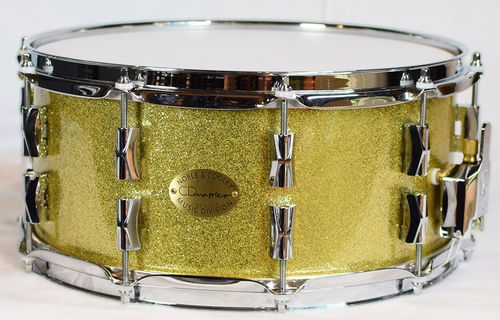 Noble & Cooley Snare CD 14x6.5 Gold Sparkle