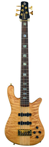 Spector NS5 Quilted Maple - Redwood 34""