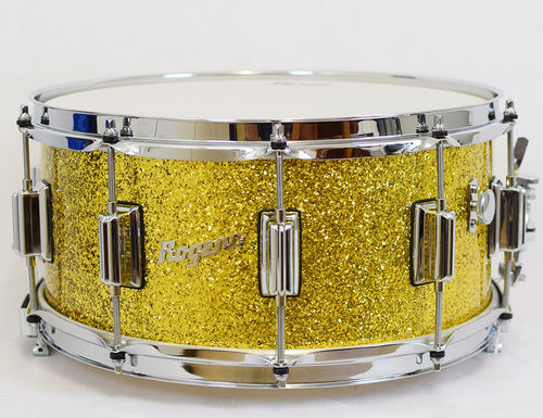 Rogers 37GSL Snare Beavertail 14x6,5 Gold Sparkle