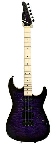Tom Anderson Drop Top S-Style Trans Purple