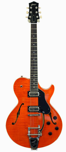 Collings SoCo 16 LC Trans Orange Semi-Hollowbody