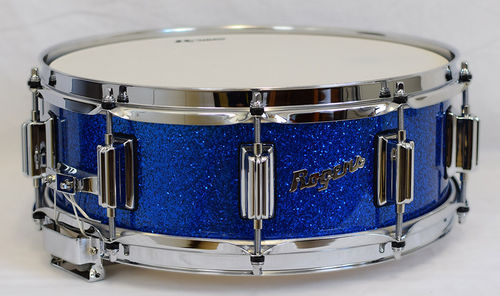 Rogers 36BSL Snare Beavertail 14x5 Blue Sparkle