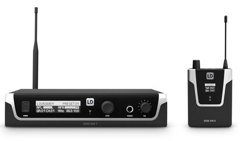 LD Systems U508 IEM In-Ear-Monitoring System