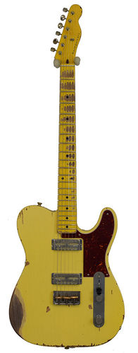 Nashguitars GF-2 Gold Foil Cream MN