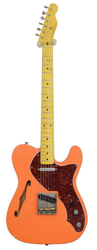 Nashguitars T-69 Thinline Orange Sunshine