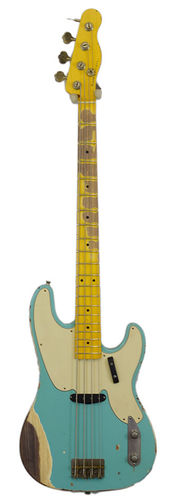 Nashguitars Bass PB-52 Seafoam Green
