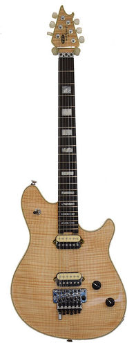 EVH Wolfgang USA 5A Flame Top Natural EBO