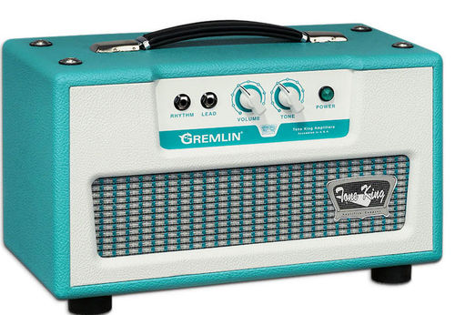 Tone King Gremlin Head Turquoise
